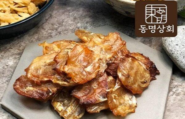 [동명상회]구운 동전 쥐포(200g) X 3 봉지
